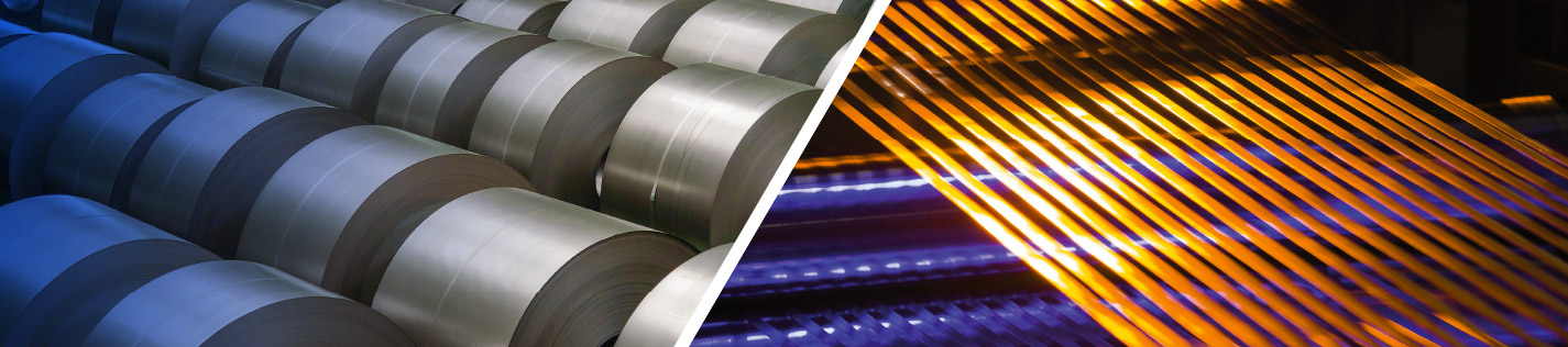 We manufacture stainless steel strip in a variety of chemical and mechanical properties to enhance customer's product