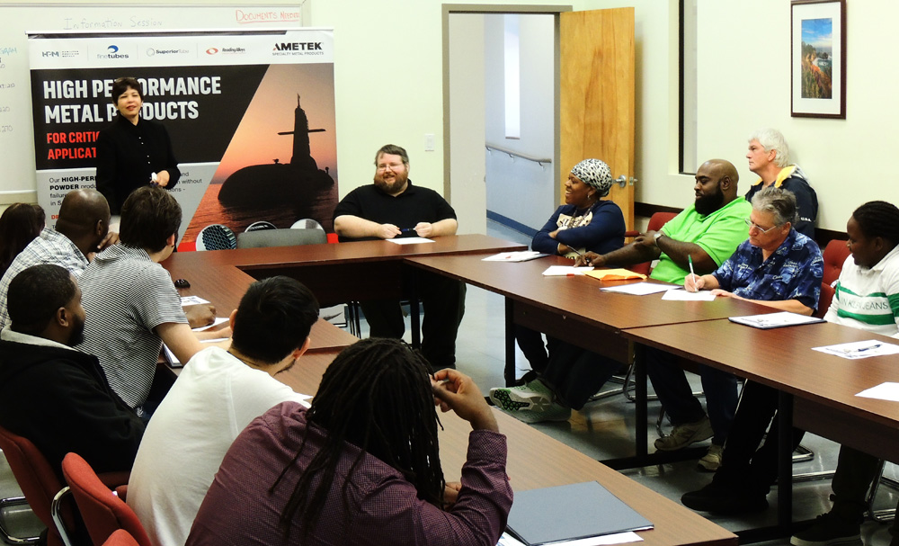 AMETEK Specialty Metal Products led a student recruitment drive as part of an initiative set up by the Workforce Alliance in New Haven, Connecticut - Thumbnail