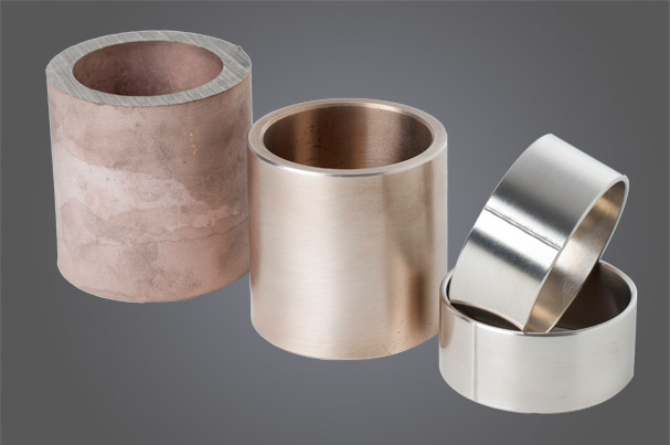 Bearing material for landing gear bushes